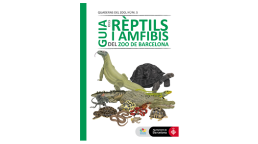 Guide of the reptiles and amphibians of the Zoo Barcelona