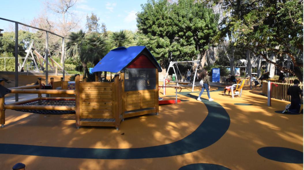 El Zoo Estrena Una Nueva Zona De Juegos Inclusivos Zoo Barcelona