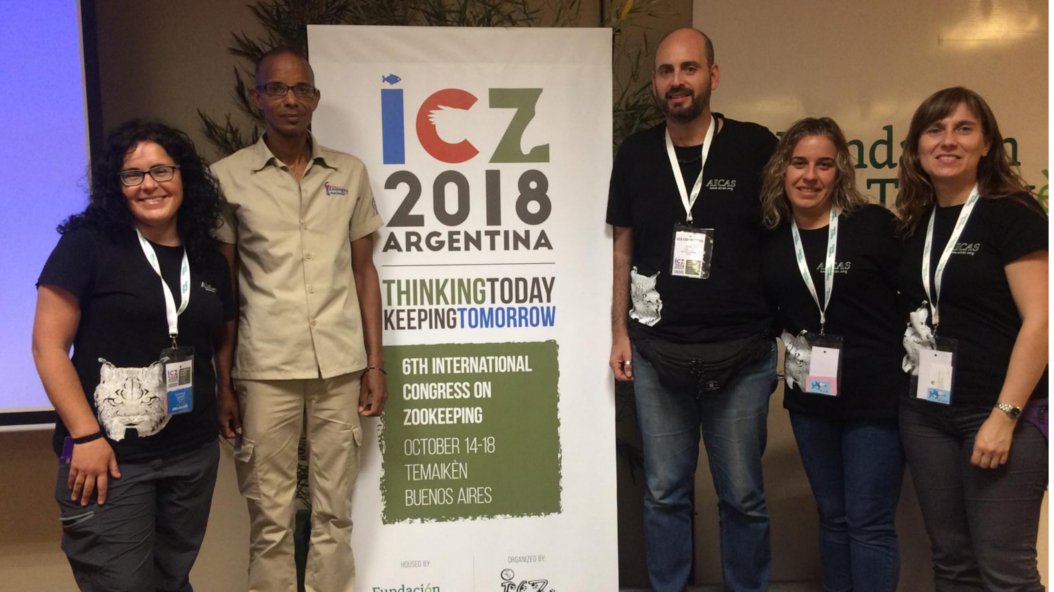 Present At The 6th International Congress Of Zookeepers ICZ From 14 18 October