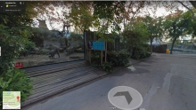 Zoo de Barcelona Google Street View